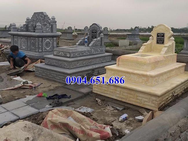 Mẫu mộ đá đơn giản đẹp bán tại Bình Phước 03 – Mộ đá Ninh Bình