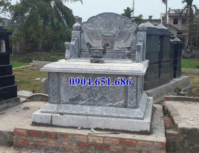 Mẫu mộ đá Ninh Bình bán tại Sài Gòn 04 – Mộ đá khối tự nhiên