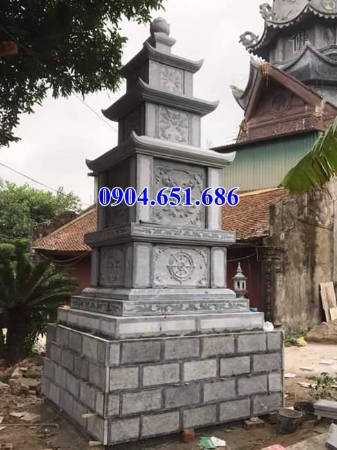 Mẫu mộ đá hình tháp đẹp bán tại Hải Dương – Tháp để hài cốt