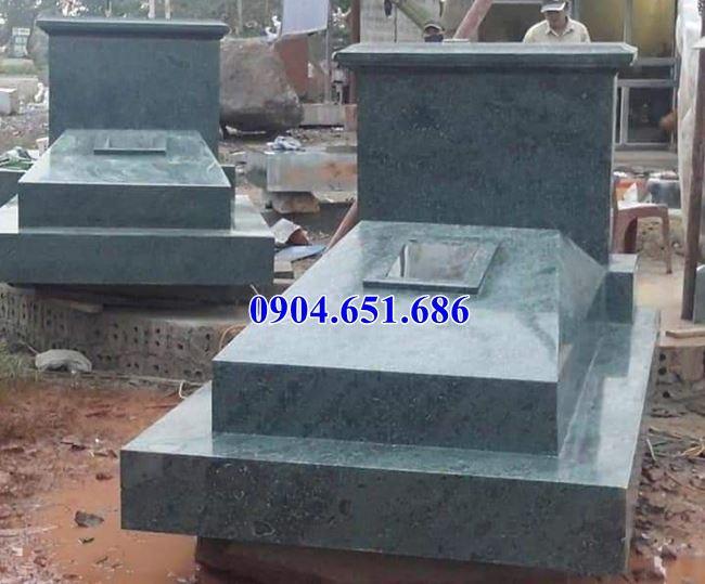 Mẫu mộ đá thiết kế đơn giản đẹp bán tại Long An 03 – Mộ đá Ninh Bình