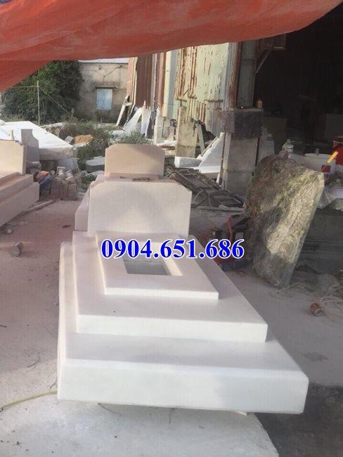 Mẫu mộ đá trắng đẹp bán tại Sài Gòn và các tỉnh Miền Đông – Nhà mồ đá trắng