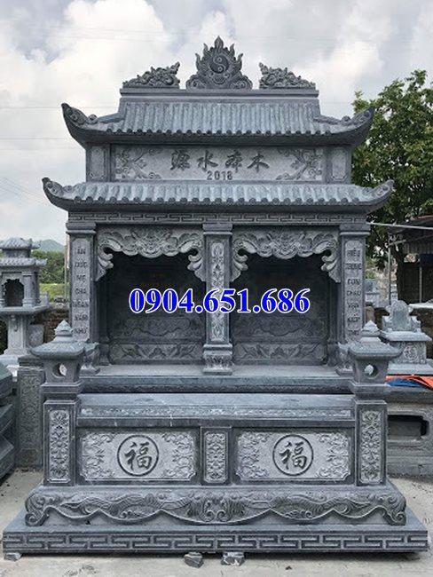 Mẫu mộ đôi gia đình bán tại Bình Phước – Nhà mồ song thân