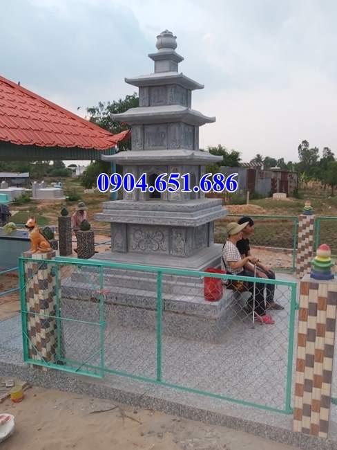 Mẫu mộ tháp đá đẹp bán tại Hải Dương – Tháp mộ sư
