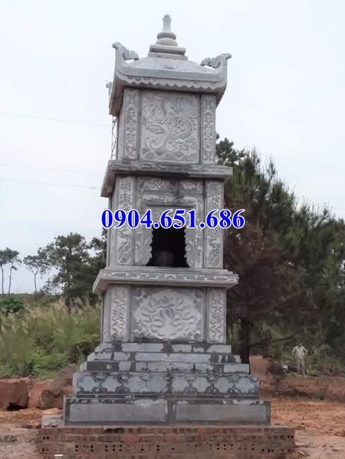 Mẫu mộ tháp đá đẹp bán tại Quảng Ninh – Tháp mộ sư