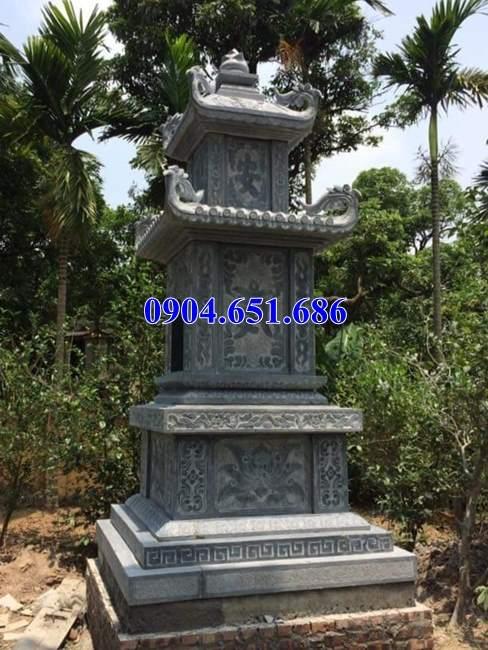 Mẫu mộ tháp đá để tro cốt bán tại Hải Dương – Xây tháp mộ để tro