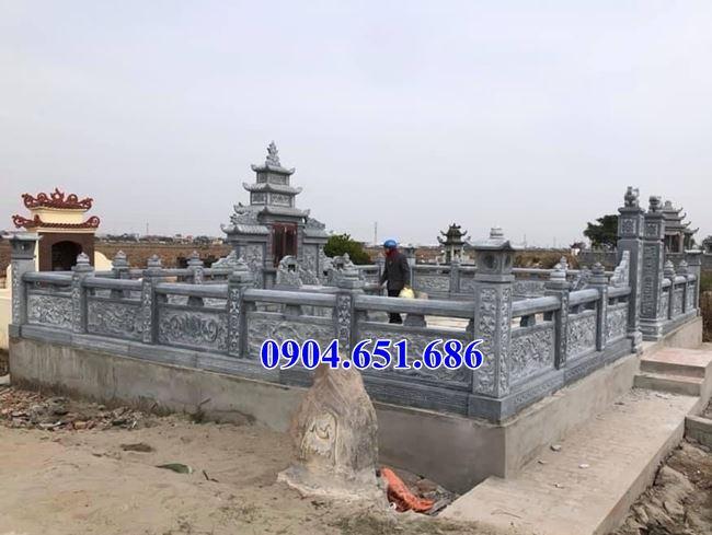Mẫu nhà mồ đẹp bán tại Bình Phước 07 – Khu lăng mộ, nhà mồ gia đình