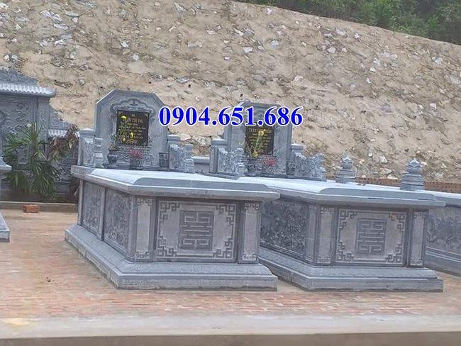 Địa chỉ bán mộ đôi đá, nhà mồ song thân đẹp tại Bến Treuy tín chất lượng giá rẻ