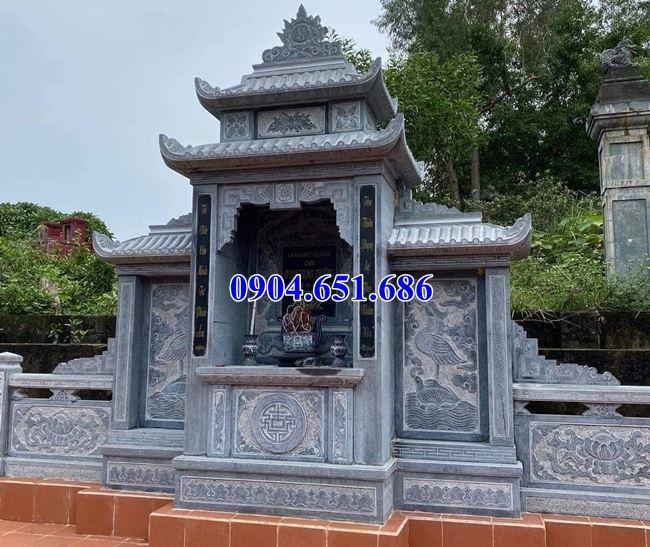 Địa chỉ bán, xây lăng mộ đá, nhà mồ đá đẹp tạiKiên Gianguy tín chất lượng