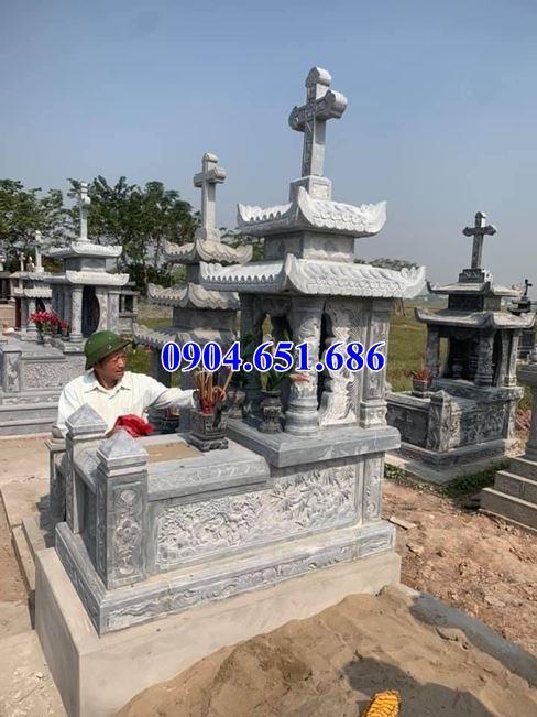 Giá mộ công giáo đá tự nhiên bán tại Bà Rịa Vũng Tàu