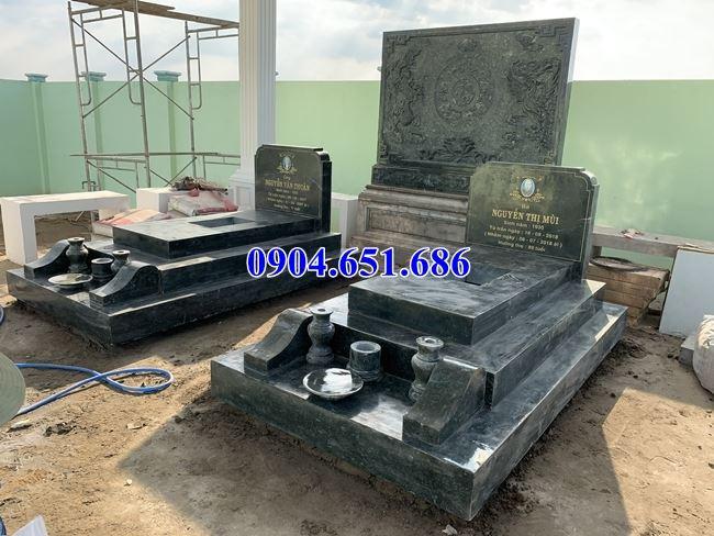 Mẫu mộ đôi gia đình bán tại Bà Rịa Vũng Tàu 11 – Mộ đá đôi đẹp