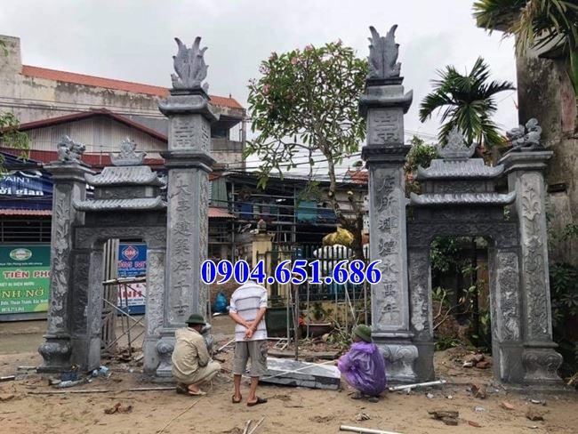 Địa chỉ bán cổng đá khối tự nhiên tại Sài Gòn uy tín chất lượng
