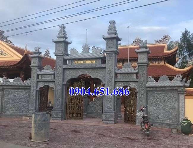 Địa chỉ bán cổng đá nhà thờ họ uy tín chất lượng