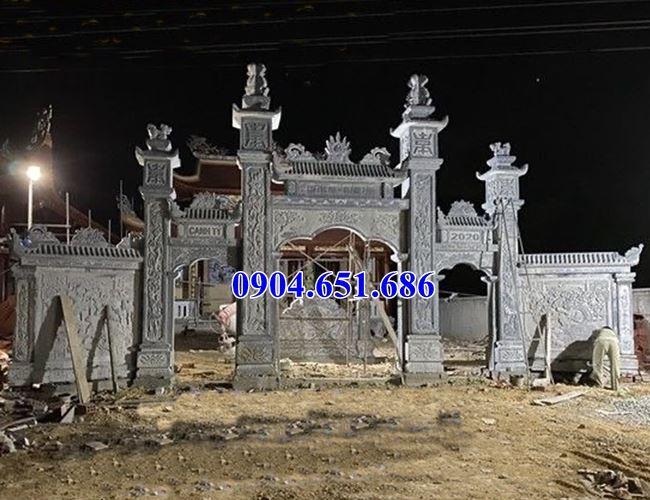 Địa chỉ bán cổng tam quan nhà thờ họ tại Sài Gòn uy tín chất lượng giá rẻ