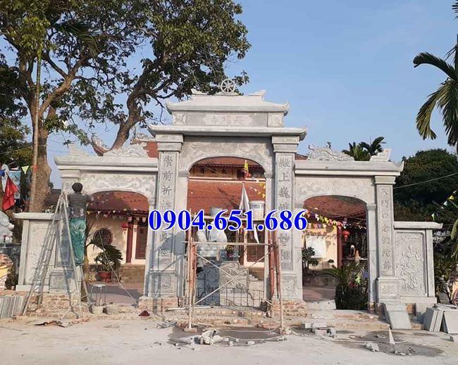 Địa chỉ bán, thiết kế xây cổng chùa bằng đá khối tự nhiên tại Sài Gòn uy tín chất lượng giá rẻ