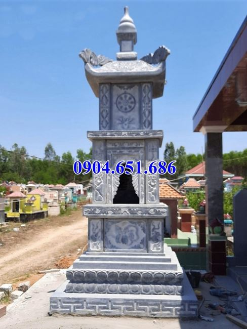Địa chỉ bán, thiết kế xây mộ đá hình tháp uy tín chất lượng