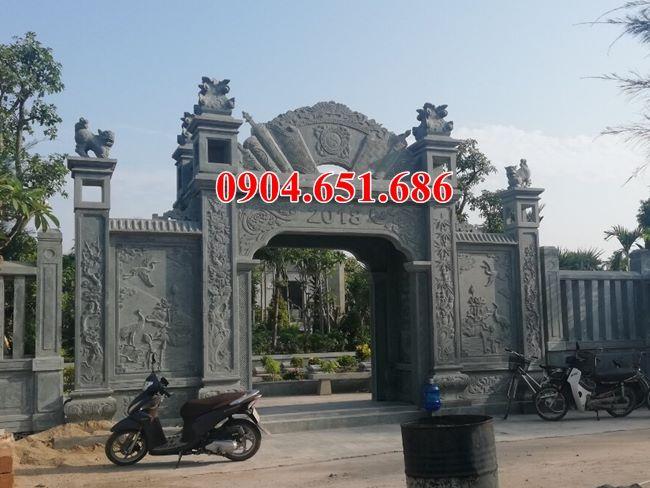Địa chỉ làm cổng bằng đá tự nhiên mẫu mã đẹp, uy tín ở Bình Định