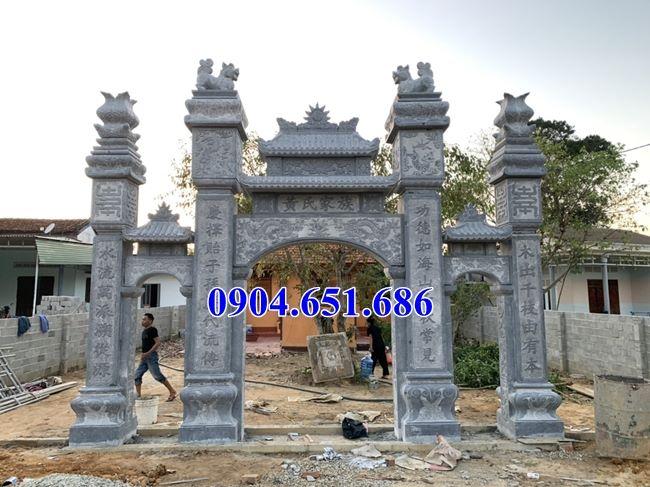Địa chỉ thiết kế, làm cổng đá, cổng tam quan đá tại Nghệ An