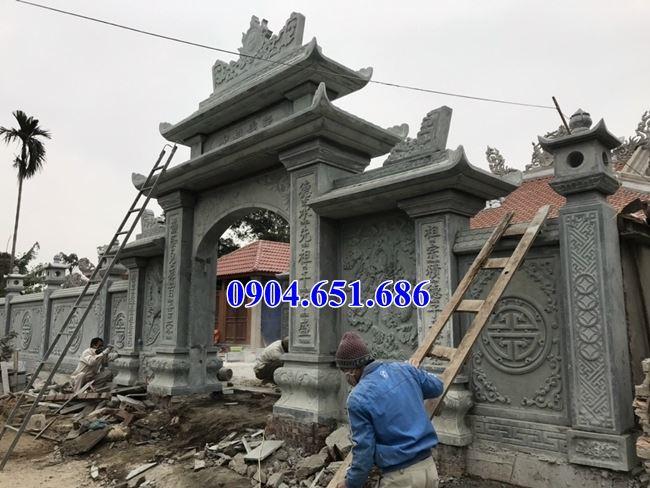 Địa chỉ thiết kế, thiết kế, xây cổng nhà thờ họ, đình, chùa tại Hà Tĩnh