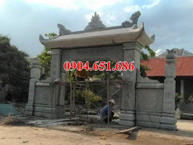 Địa chỉ thiết kế xây cổng đá đình, chùa, nhà thờ họ tại Đồng Nai uy tín chất lượng