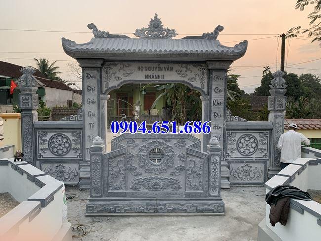 37 Mẫu cổng đá đẹp tại Nghệ An
