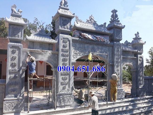 5 Mẫu cổng chùa bằng đá đẹp bán tại Sài Gòn – Cổng đá đình chùa