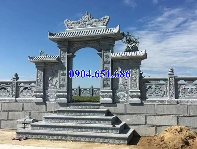 Cổng đá lăng mộ, cổng đá nghĩa trang gia đình