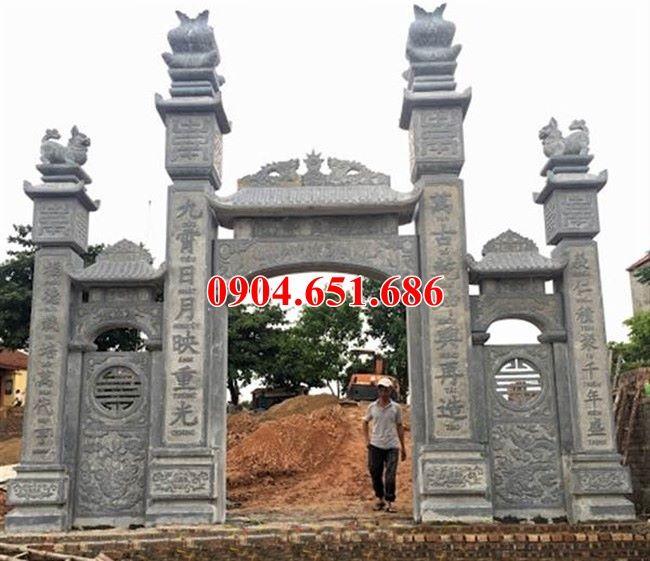 Cổng chùa đẹp giá rẻ bán và lắp đặt ở Đồng Nai