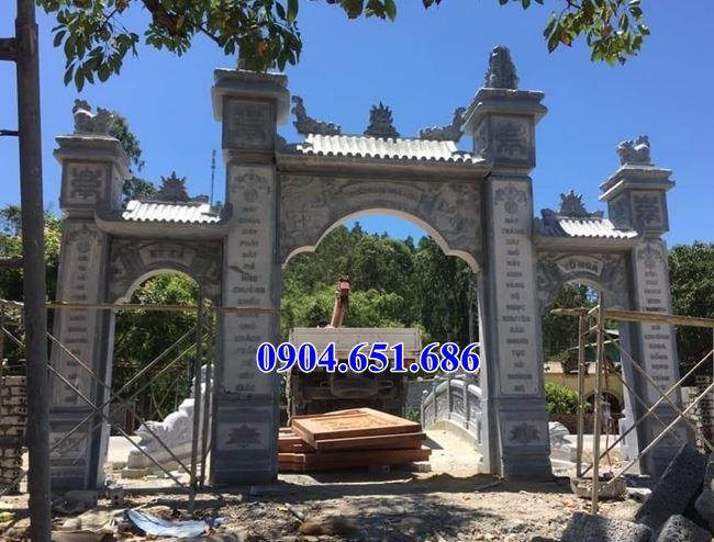 Giá cổng đá khối tự nhiên tại Quảng Ngãi