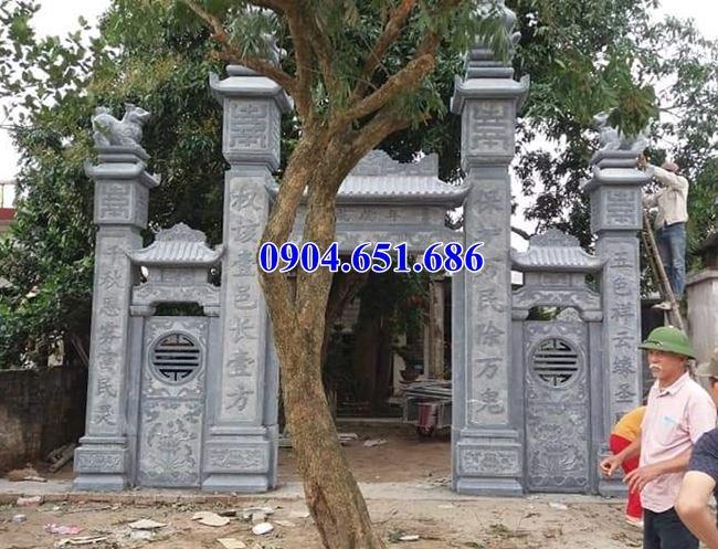 Giá cổng chùa đá khối tự nhiên bán tại Sài Gòn