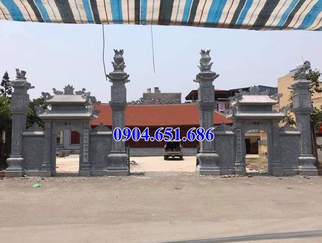 Giá cổng chùa đá khối tự nhiên tại Đồng Nai