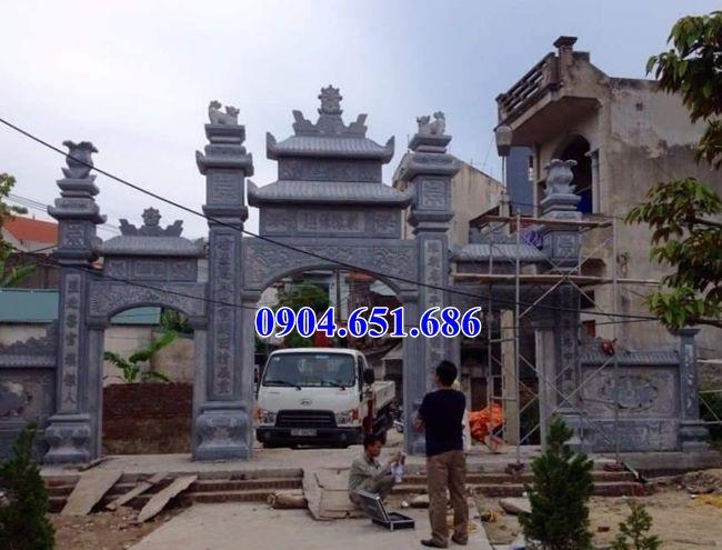 Giá xây cổng đá nhà thờ họ ở Nghệ An