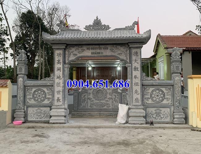 Mẫu cổng đá đẹp bán tại Sài Gòn 02 – Cổng đá khối tự nhiên