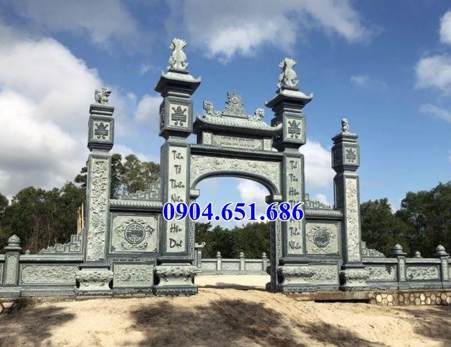 Mẫu cổng đá khối tự nhiên đẹp nhất bán tại Bình Định