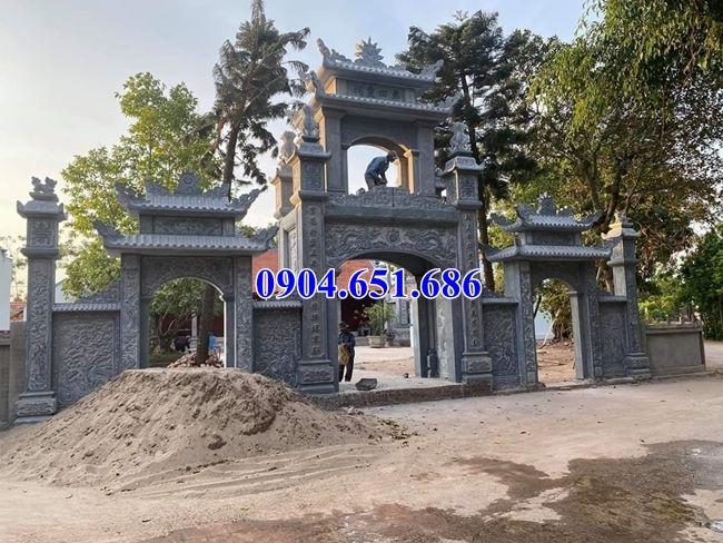 Mẫu cổng chùa đẹp bán và lắp đặt ở Nghệ An