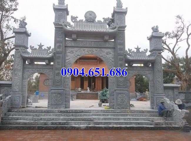 Mẫu cổng chùa đẹp nhất Việt Nam