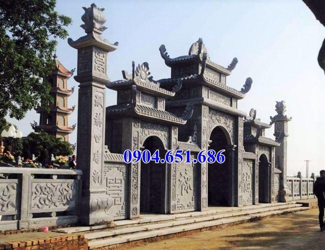 Mẫu cổng chùa tam quan thiết kế chuẩn phong thủy bán tại Quảng Ngãi