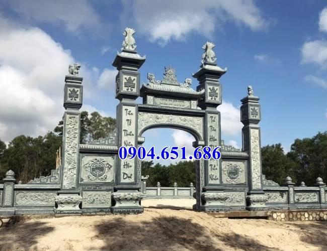 Mẫu cổng khu lăng mộ gia đình đẹp nhất hiện nay