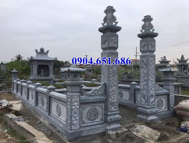 Mẫu cổng nhà linh lăng mộ gia đình đơn giản đẹp