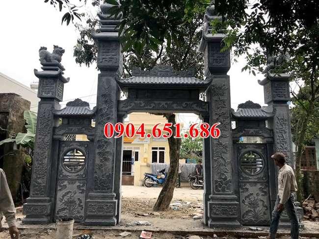 Mẫu cổng nhà từ đường, cổng nhà thờ tộc đẹp nhất hiện nay