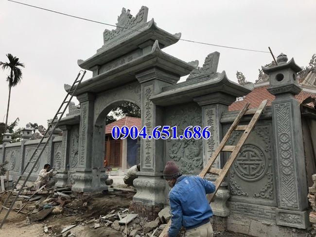 Mẫu cổng nhà thờ họ đẹp tại Bình Định
