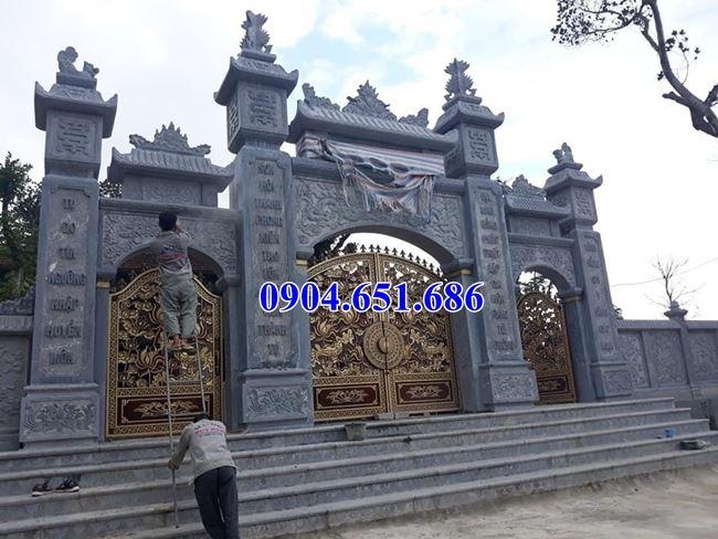 Mẫu cổng tam quan đá đẹp bán tại Hà Tĩnh