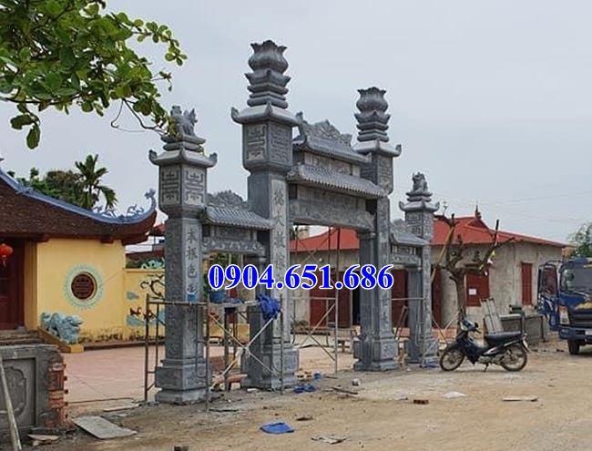 Mẫu cổng tam quan đá đẹp bán tại Nghệ An