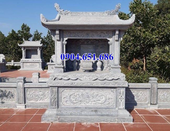 Mẫu nhà linh nghĩa trang đẹp bán tại Kon Tum 09 – Lăng mộ đá gia đình