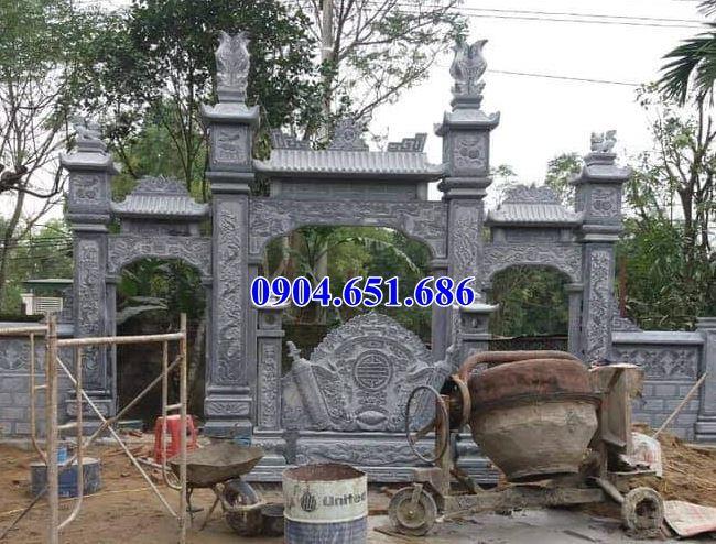 Xây cổng đình, chùa, nhà thờ họ tại Quảng Ngãi uy tín chất lượng