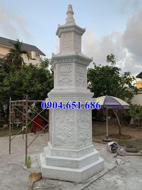 Địa chỉ bán, lắp đặt mộ tháp phật giáo để tro cốt bằng đá trắng tại Bạc Liêu