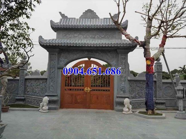 Giá cổng nhà thờ họ bằng đá tự nhiên bán tại Bắc Ninh
