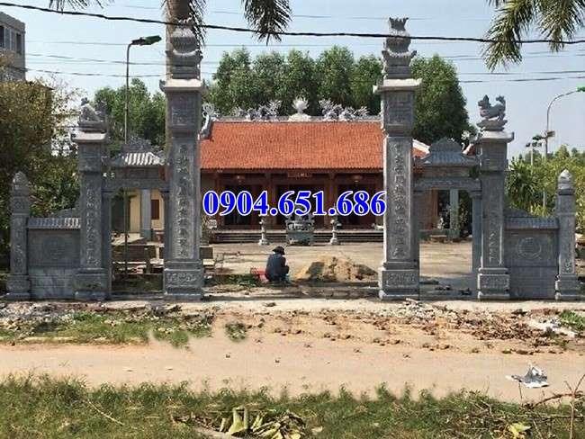Mẫu cổng đá đơn giản đẹp bán tại Bắc Ninh giá rẻ