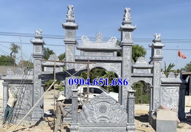 Mẫu cổng tam quan nhà thờ họ đẹp bán ở Bắc Ninh