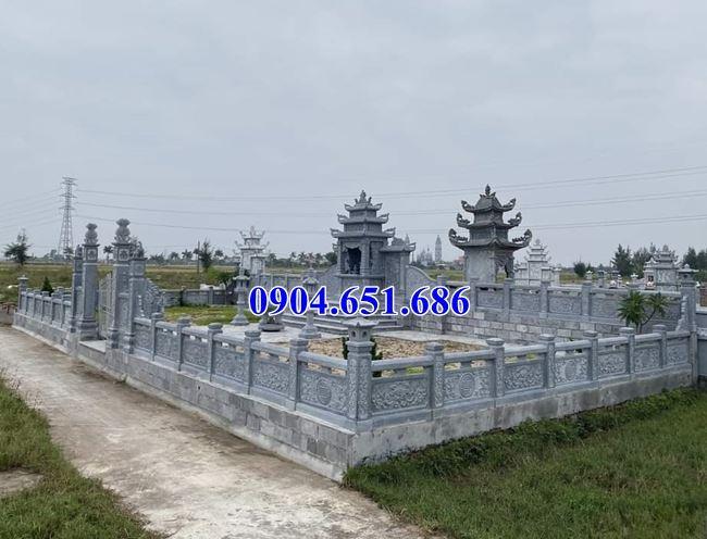 Mẫu khu nhà thờ chung nghĩa trang gia đình xây bằng đá lắp đặt toàn quốc
