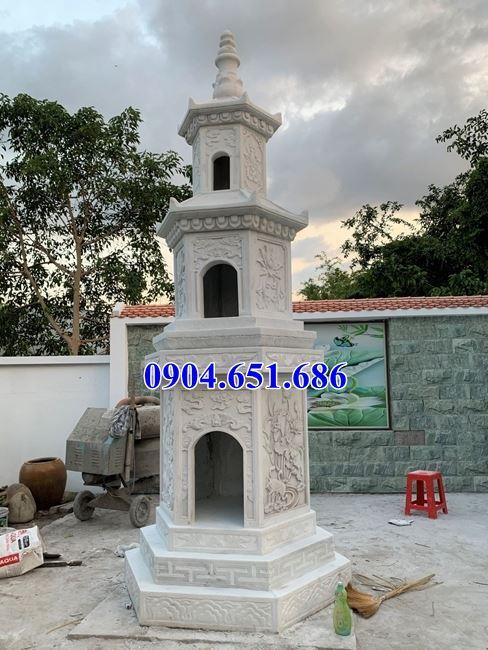 Mẫu mộ tháp đá đẹp để hũ tro cốt bán tại Đồng Nai – Mộ tháp phật giáo